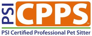 PSI Certified Professional Pet Sitter logo